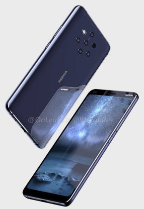 Nokia 9 leaked 3 Exclusive: Nokia 9 Case images confirm the Penta-Lens Camera 5