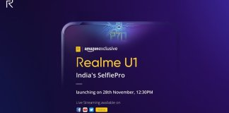 Realme U1 India Launch Date
