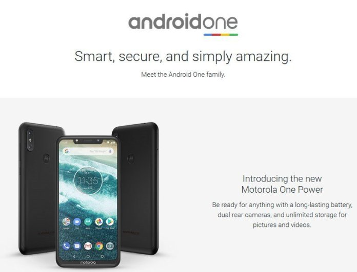 Android One OS update support a