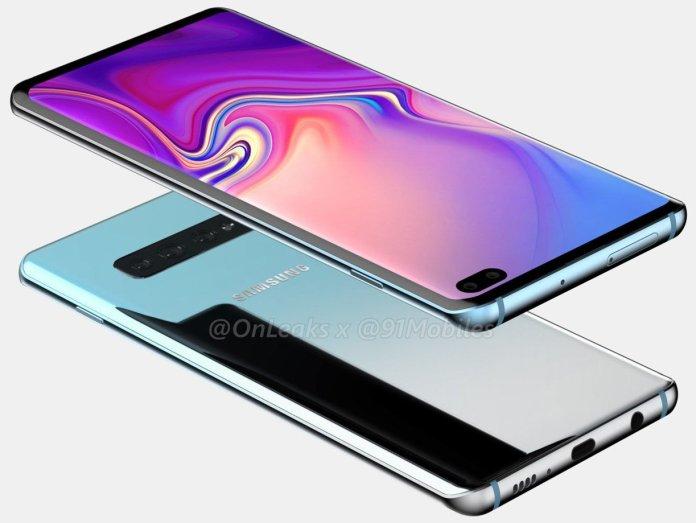 Galaxy S10 Plus unofficial renders 3