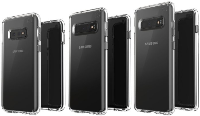 Galaxy s10 leaked case render
