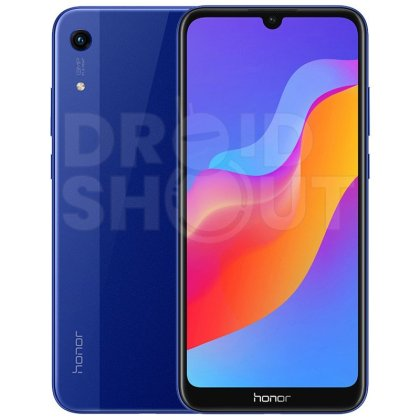 Honor 8A Blue Honor 8A with waterdrop display to launch on Jan 8, Press Renders leak 1