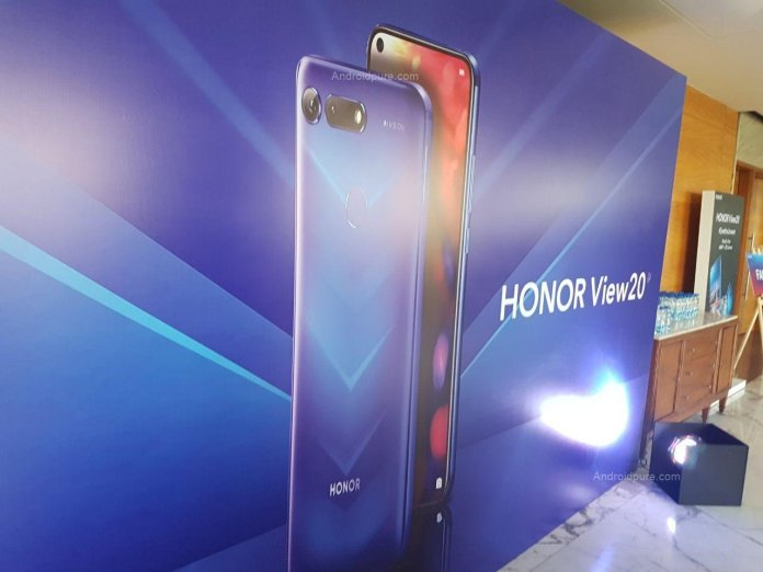 Honor View 20 India launch