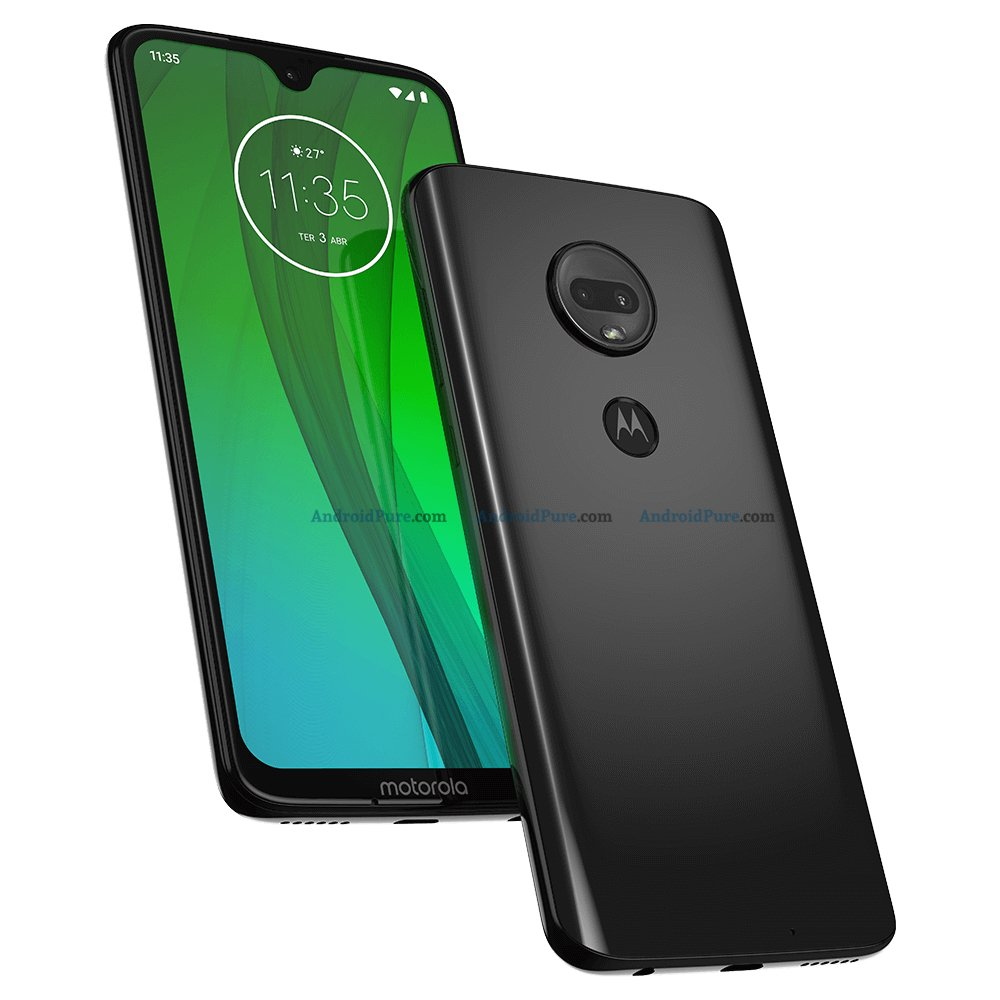 Moto G7 official Render a - AndroidPure