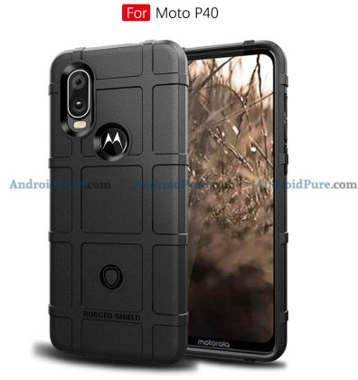 Moto P40 f Moto P40 Case Renders confirm the punch hole camera and earlier leaks 15