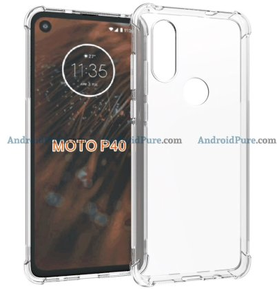 Moto P40 i Moto P40 Case Renders confirm the punch hole camera and earlier leaks 12