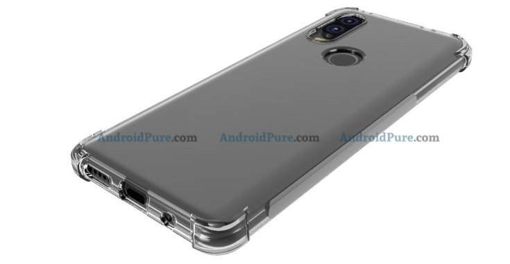 Moto P40 l Moto P40 Case Renders confirm the punch hole camera and earlier leaks 9