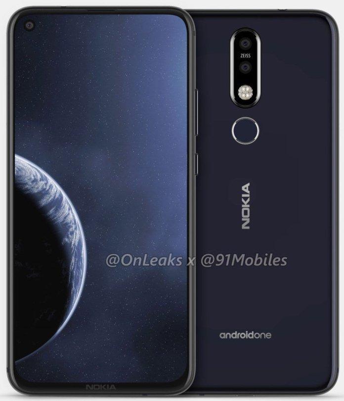 Nokia 8.1 Plus leaked renders