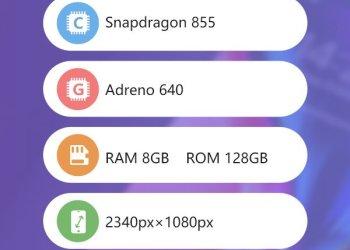 Snapdragon 855 AnTuTu Benchmark scores