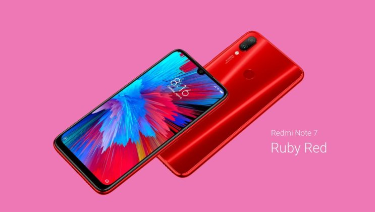 Redmi Note 7 Colours