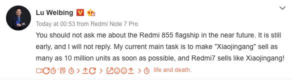 Redmi Flagship Snapdragon 855 - AndroidPure