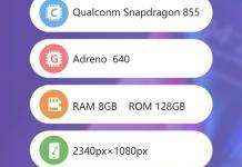 Xiaomi Black Shark 2 AnTuTu Benchmark