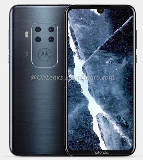 Motorola 4 camera phone