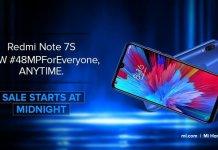 Redmi Note 7S open sale