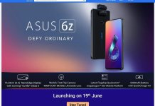 ASUS 6Z India launch date