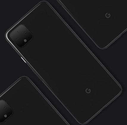 Google Pixel 4 official render
