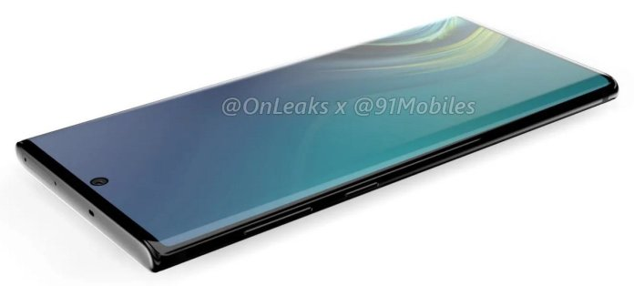 Samsung Galaxy Note10 renders