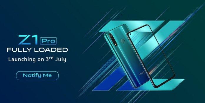Vivo Z1 Pro India launch date