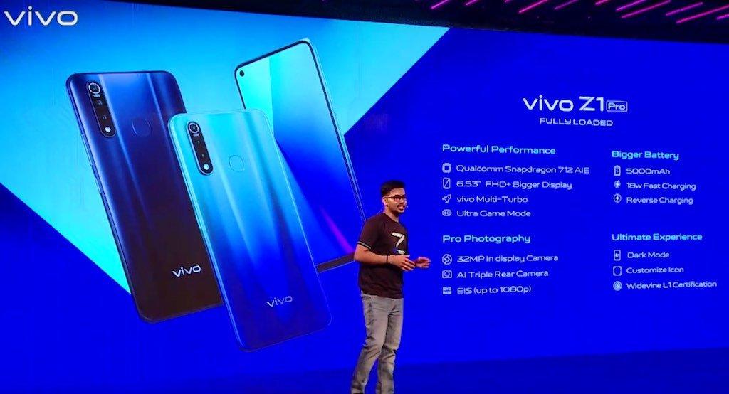 Image result for vivo z1 pro