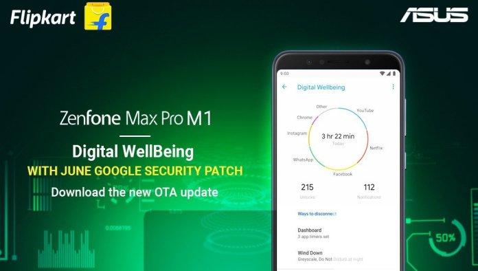 Zenfone Max Pro M1 June Security Update