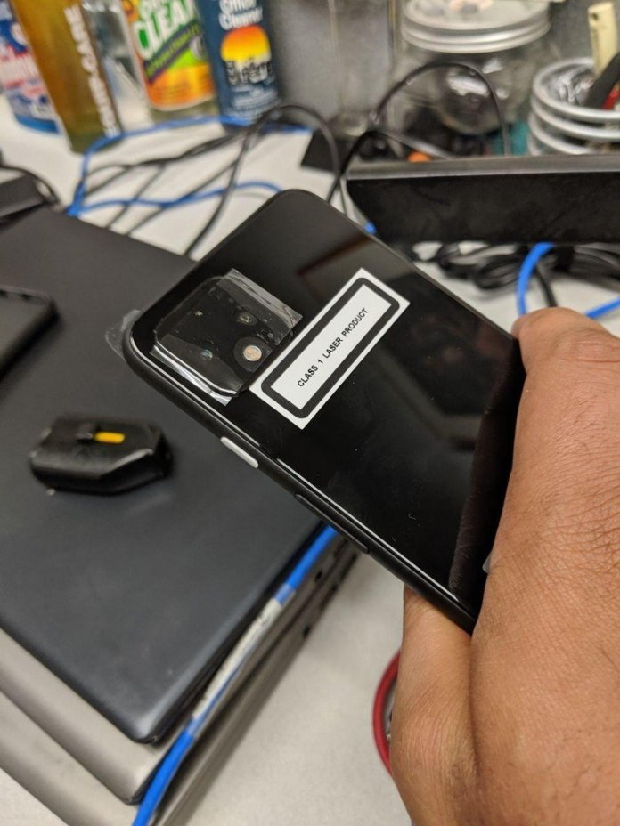 Google Pixel 4 real life photos leaked
