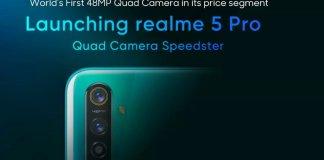 Realme 5 Pro launch