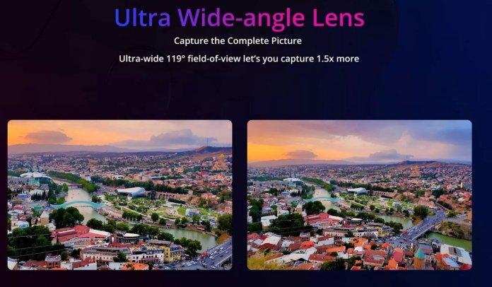 Realme 5 ultra wide angle