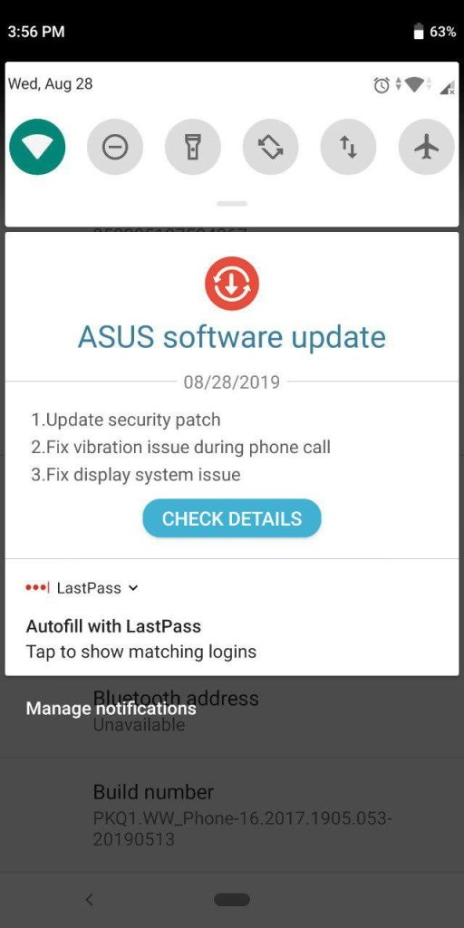 Zenfone Max Pro M1 Widevine Level Downgraded In August Update