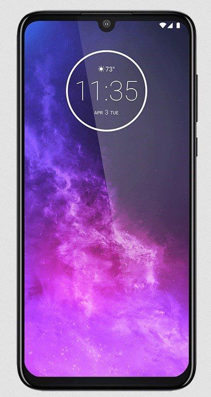 Motorola one zoom display