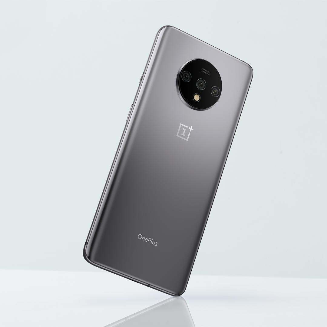 OnePlus 7T Frosted Silver colour