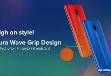 Redmi 8A Aura Wave Grip Design