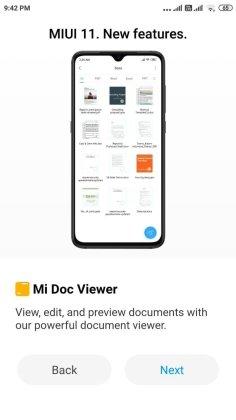 MIUI 11 update for Redmi Note 4