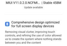 MIUI 11 update for Redmi Note 4