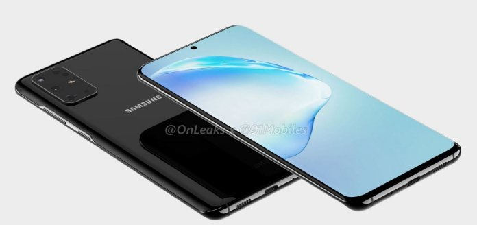Samsung Galaxy S11 leaked render