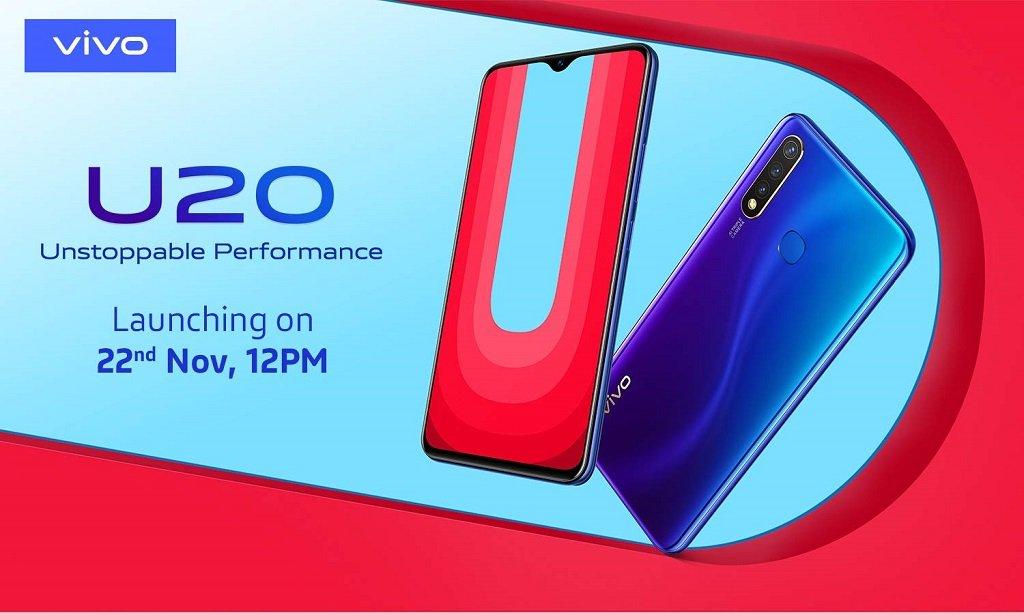 Vivo U20 launch