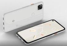Google Pixel 4a Leaked Renders 5