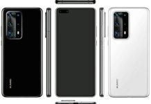 Huawei P40 Pro leaked renders