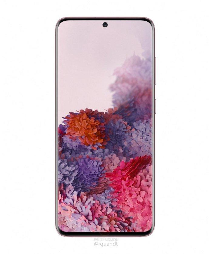 Samsung Galaxy S20 series Cosmic Pink