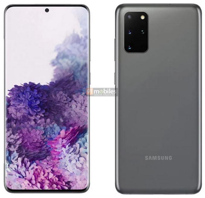 Samsung Galaxy S20 series - S20+ Cosmic Gray