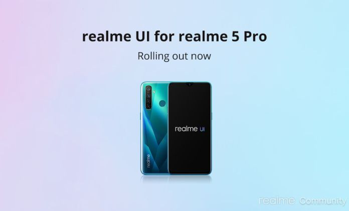 Android 10 update for realme 5