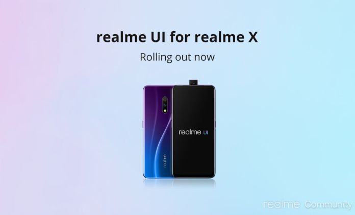 Android 10 update for realme x