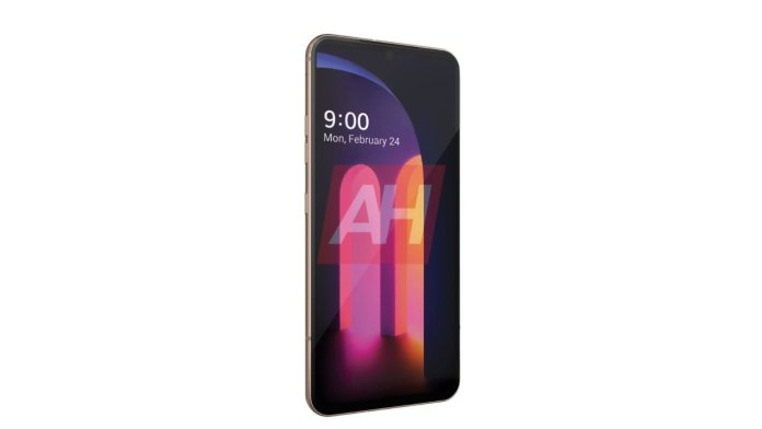 LG V60 ThinQ leaked press render