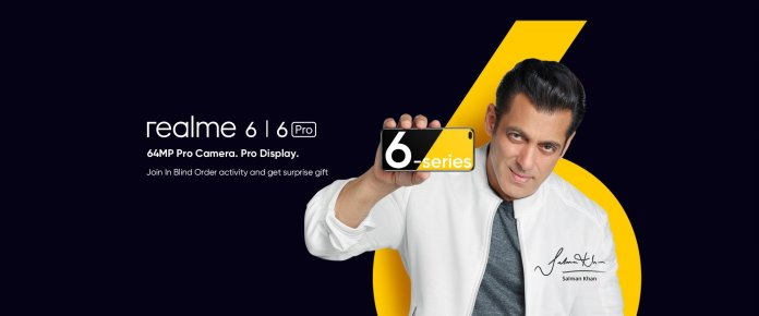 Realme 6 and Realme 6 Pro launch date