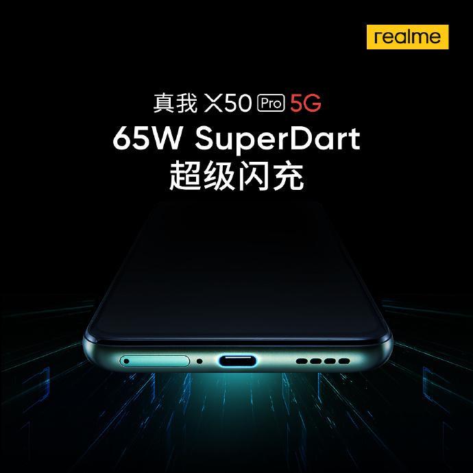 Realme X50 Pro 5G battery