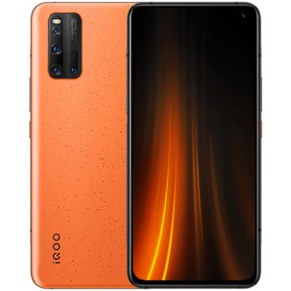 iQOO 3 Volcano Orange