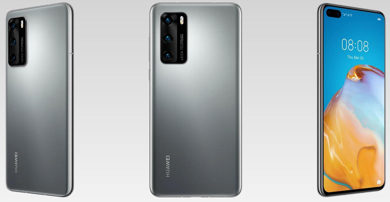 Huawei P40 Silver Frost
