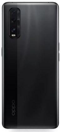 Oppo Find X2 Black back