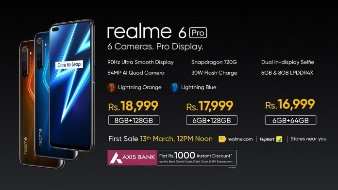Realme 6 Pro price in India