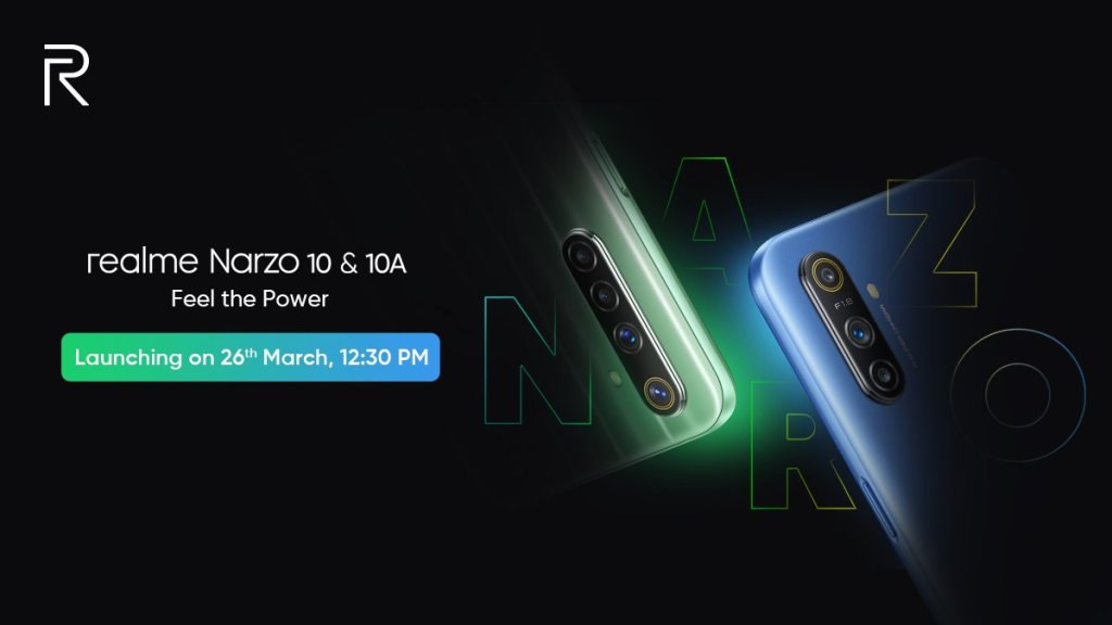 Realme Narzo 10 And Narzo 10a Launch Date