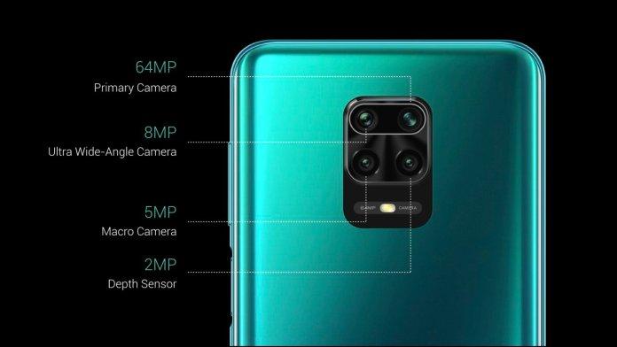 Redmi Note 9 Pro Max Cameras